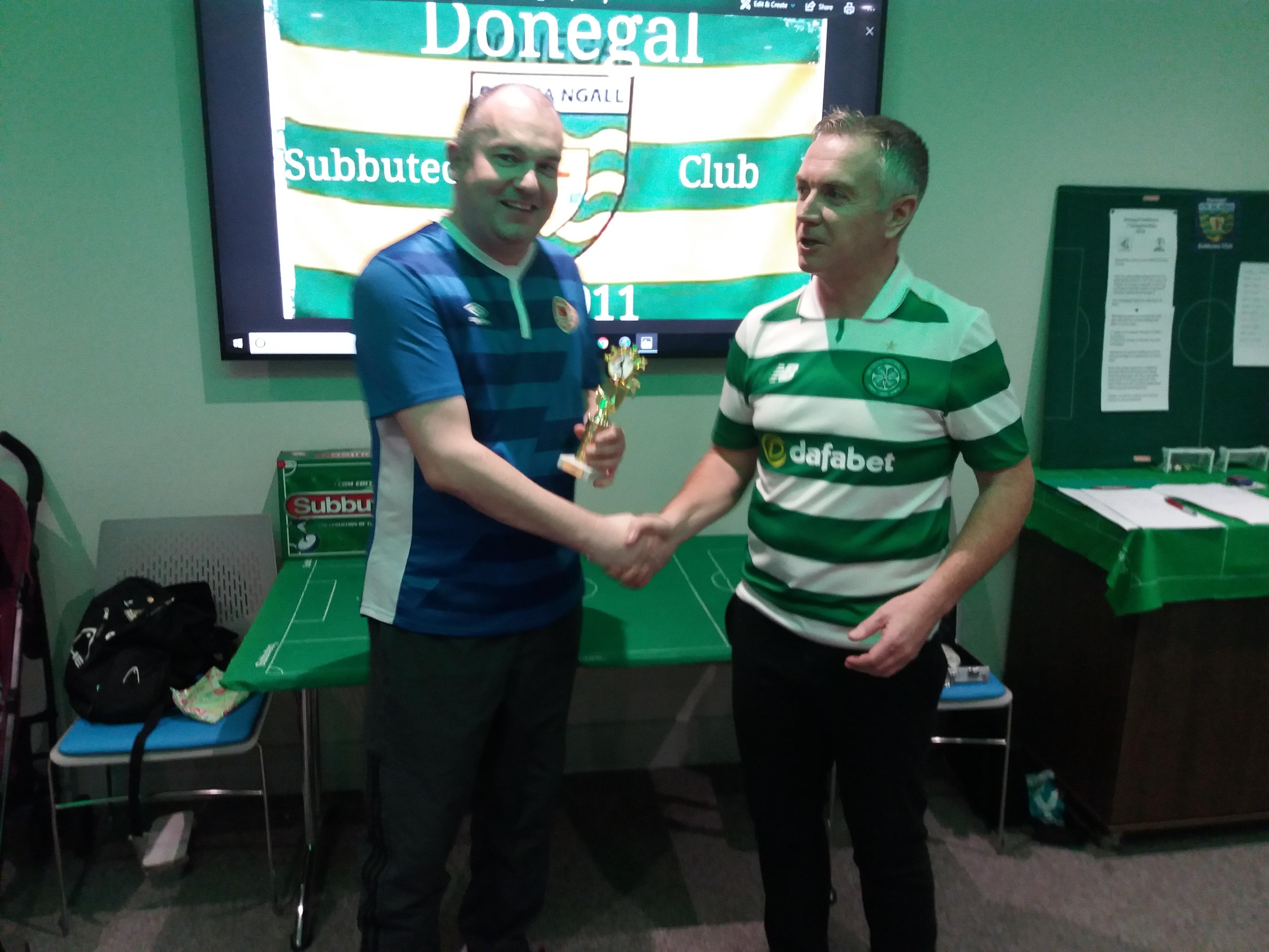 Winner: Mark Farrell
