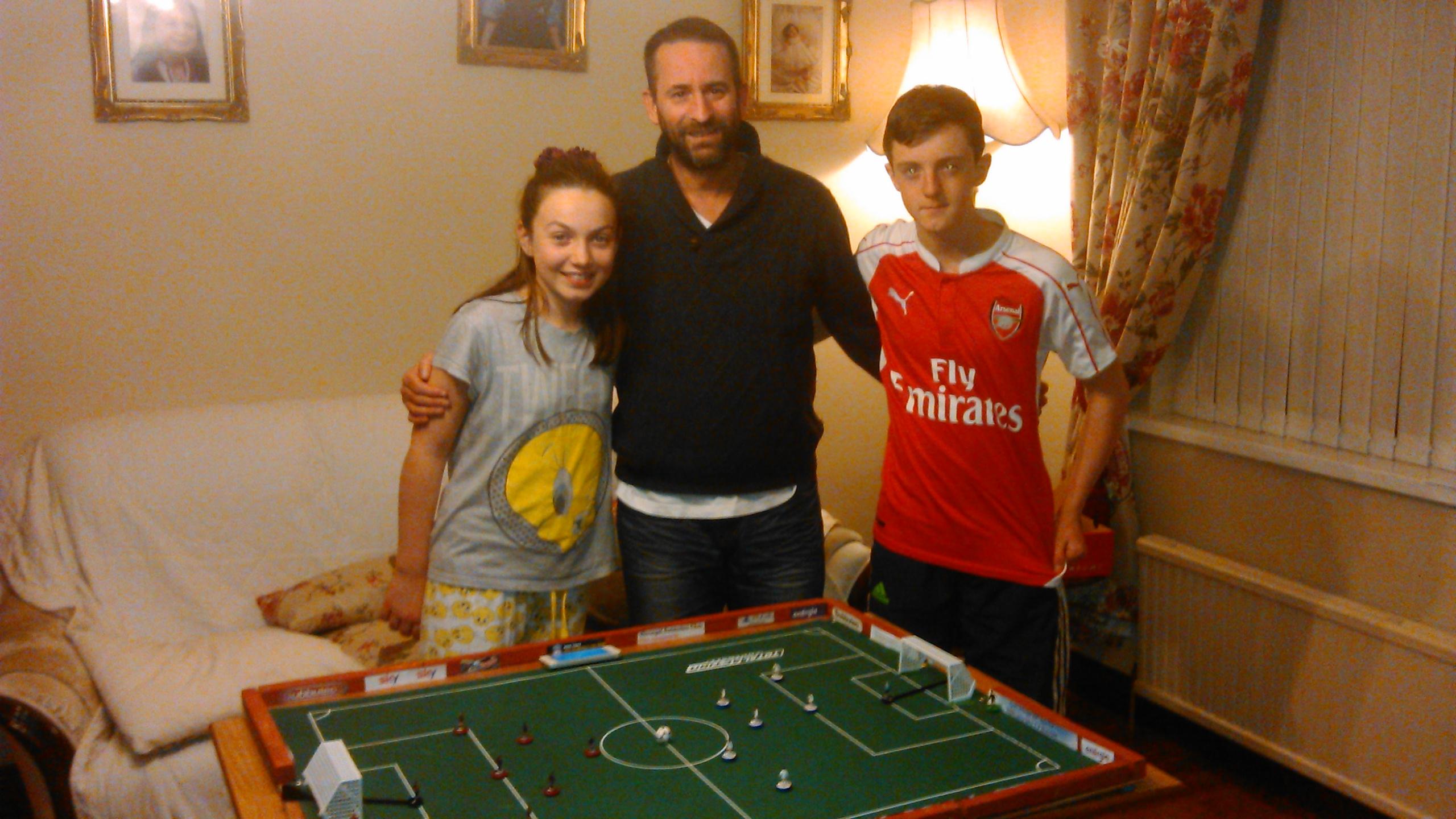 Caoimhe, Brian, Cormac